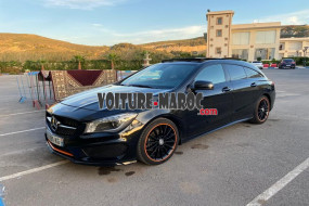 mercedes CLA shooting break Edition One pack amg